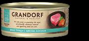 Grandorf Консервы для кошек Филе тунца с мясом лосося 70 гр