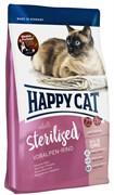 Happy Cat Adult Sterilised для стерилизованных кошек Альпийская говядина 1,4 кг