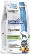 Forza корм для собак средних пород Оленина/картофель 1,5кг