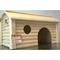 Дом с коньковой крышей для мелких грызунов дерево И-224 - фото 4912